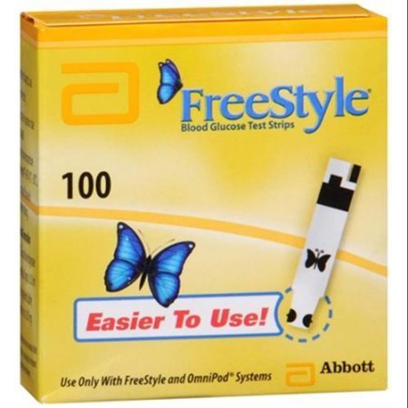 FreeStyle Blood Glucose Test Strips 100ct