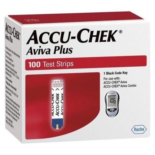 Accu-Chek Aviva Plus Test Strips 100ct