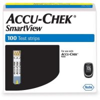 Accu-Chek SmartView Test Strips 100ct