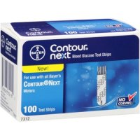 Bayer Contour Next Blood Glucose Test Strip 100ct
