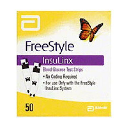 FreeStyle InsuLinx Test Strips 50 ct