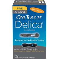 OneTouch Delica 30g Lancets 100ct