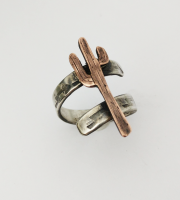 Adjustable Cactus Ring