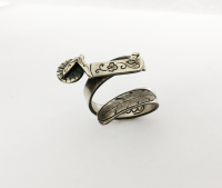 Sterling Silver Spur Ring