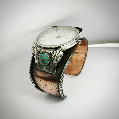 Campitos Turquoise Watch Cuff