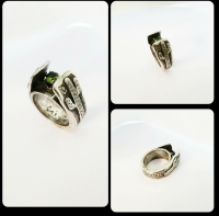 Sterling Silver Cathedral Cactus Ring