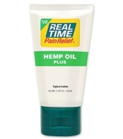 Real Time Pain Relief Hemp Oil Plus 1.5 oz