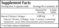 Collagen Type 2 Joint Complex (120 Capsules)
