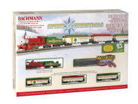 Bachmann 24017 N Scale Spirit Of Christmas Train Set
