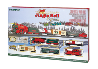 Bachmann 724 HO Scale Jingle Bell Express Train Set