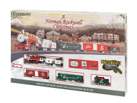 Bachmann 741 HO Scale Norman Rockwell Christmas Train Set