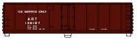 Accurail 8324 8300 Series 40' Steel Refrigerator Cars with Hinged Door - ART ICE Service