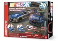 Auto World 26' NASCAR Hendrick Motorsports HO Scale Slot Race Set
