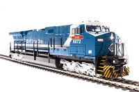 "3421 GE AC6000, BHP Iron Ore #6076, Blue & White ""Mount Goldsworthy"", Paragon3 Sound/DC/DCC, N"