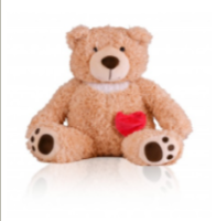 Teddy bear cremation keepsake