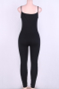 Black Bandage Leg Jumpsuit-M-Sku-040511/Ab,Black