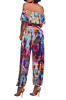 Multicolor Strapless Cut Side Outfit-S-Sku-041134/D,Multi color;