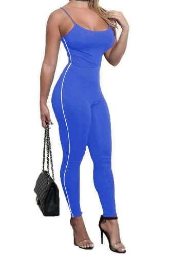Anne recommend:Sling Sexy Tight High Quality Jumpsuit -S-Sku-041454/w,Red
