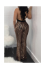 Deep V Backless Sexy Sequined Jumpsuit Anne Recommend-M-Sku#:041598-&