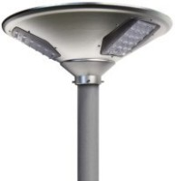 Integrated Solar Garden Pole Light-20 Watt