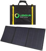 LenSun 100W Foldable Solar Panels and MC4