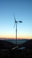 Sidite 1 kw Guy Cable Tower Wind Turbine