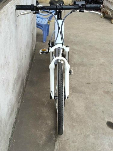 Women's Electric Folding Bike - Model EB19-2-White