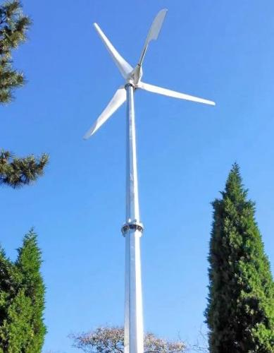 Sidite 2kw Guy Cable Tower Wind Turbine