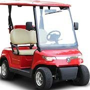 Electric Golf Cart - Model DG-LSV2-White