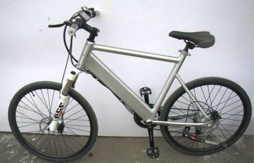 Men's Electric Folding Bike - Model EB19-1-Silver