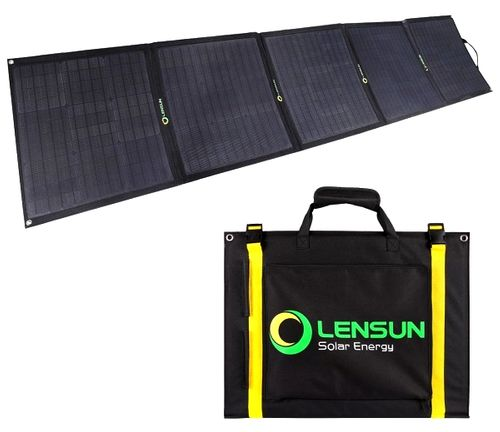 LenSun Foldable Solar Panels 200 Watt