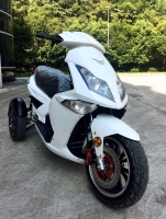 Electric Trike Motorcycle (3-Wheel)