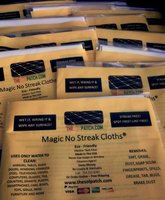 Magic No Streak Cloths-10 Pack