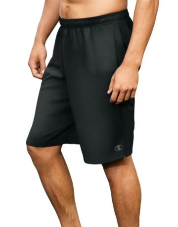 Champion Mens Core Training Shorts-Black-S
