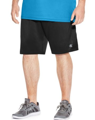 Champion Vapor Big & Tall Shorts-Black-3X