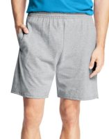 Hanes Mens Jersey Pocket Short