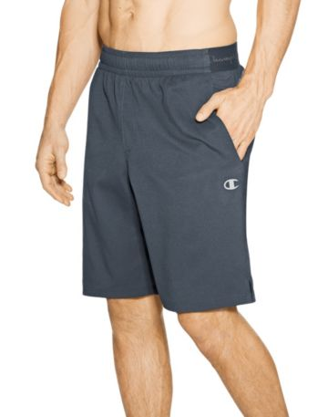 Champion Mens Hybrid Woven Shorts-Black-2X