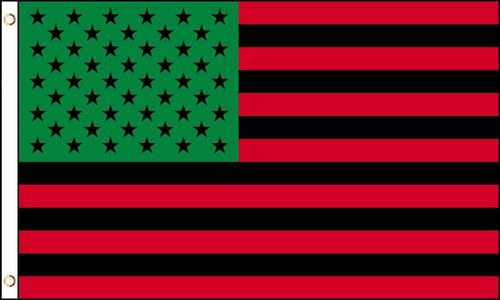 African American (US) Flag 3 ft x 5 ft