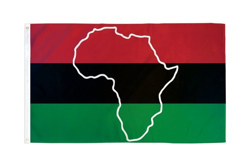 African American (Africa) Flag 3 ft x 5 ft