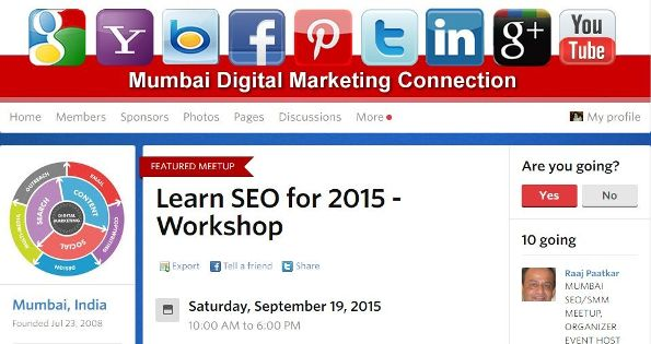 Learn SEO Meetup
