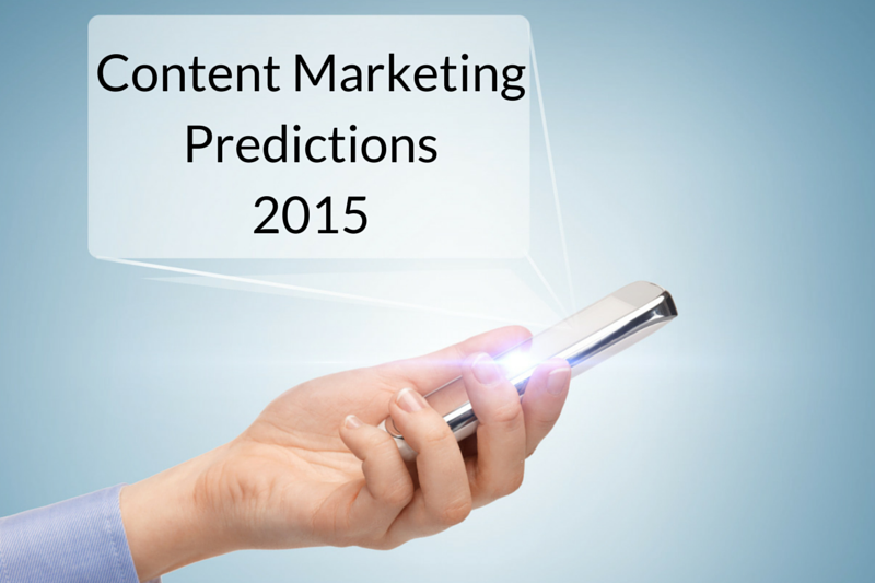 The Future of Content Marketing: 35 Experts Share Their 2015 Predictions image Future of Content Marketing 2015