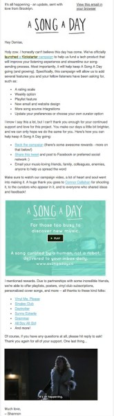 4 Email Hacks To Launch A Successful Kickstarter