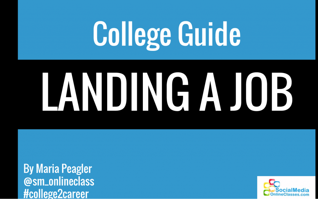I branded my Slideshare presentation with #college2career to immediately identify it