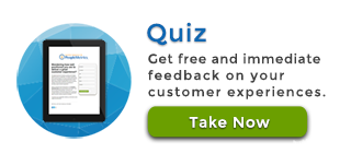 Fill out a quick customer experience quiz and see where to best put your dollars.