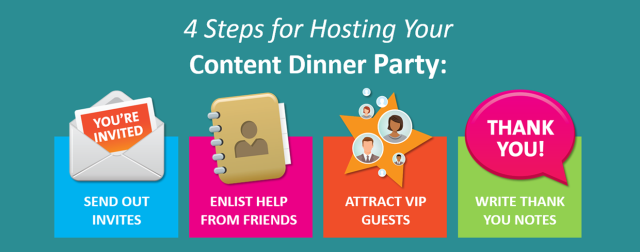 4 Steps for Hosting Your Content Dinner Party