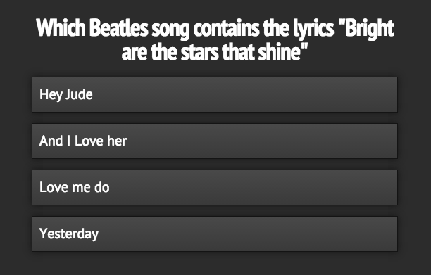 beatles-quiz