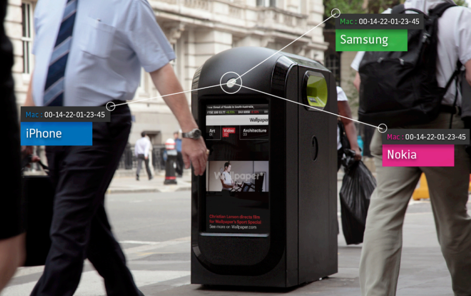Internet of Things London smartphone bin tracking