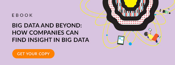 Big data and beyond - how to find insight in big data