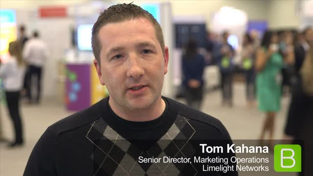 How Marketing Operations Accelerates The Effectiveness Of Marketing Programs image Tom Kahana Limelight Networks BrightTALK.png