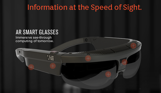 Military Tech Company Announces Augmented Reality Glasses image ODG